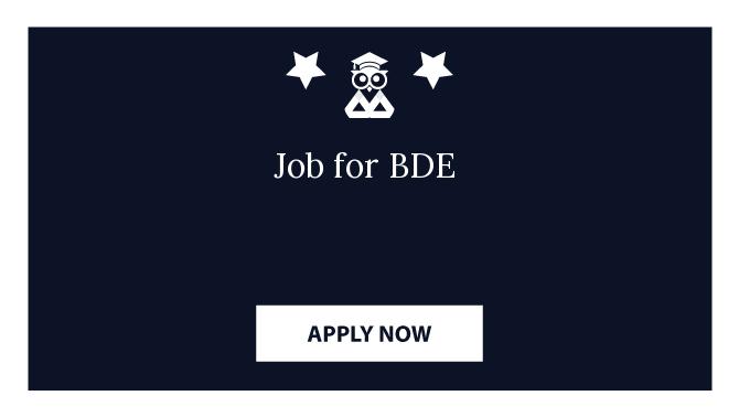 Job for BDE