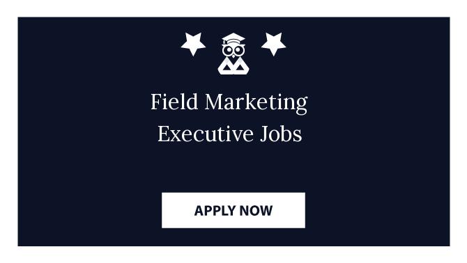 Field Marketing Executive Jobs