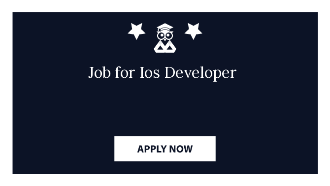 Job for Ios Developer