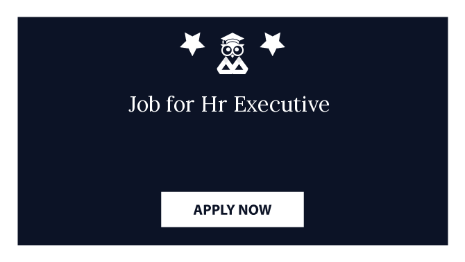 Job for Hr Executive