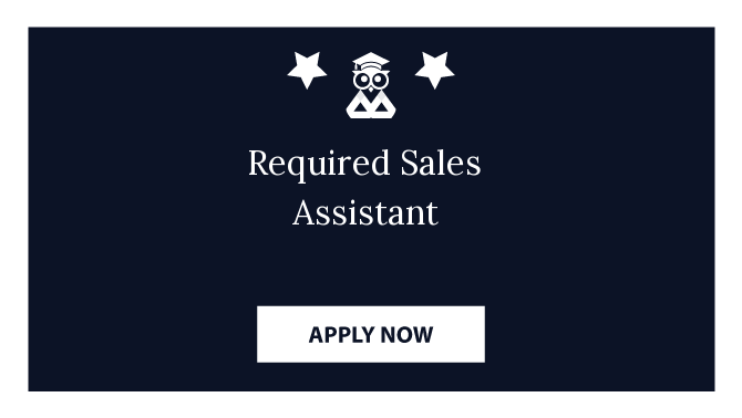 Required Sales Assistant