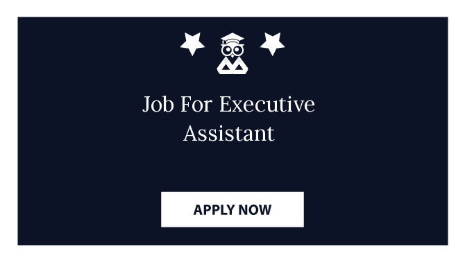 Job For Executive Assistant