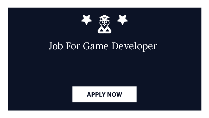 Job For Game Developer