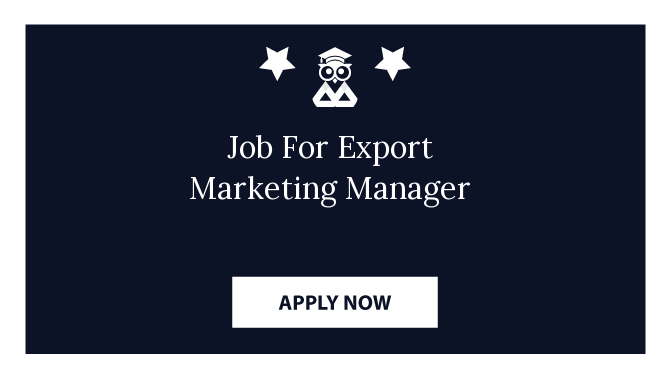 Job For Export Marketing Manager