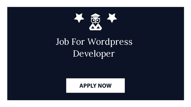 Job For Wordpress Developer