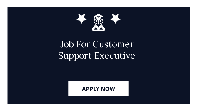 Job For Customer Support Executive