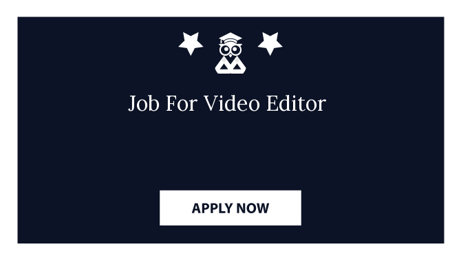 Job For Video Editor