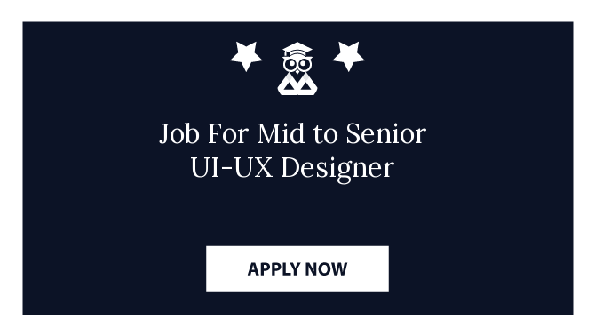 Job For Mid to Senior UI-UX Designer