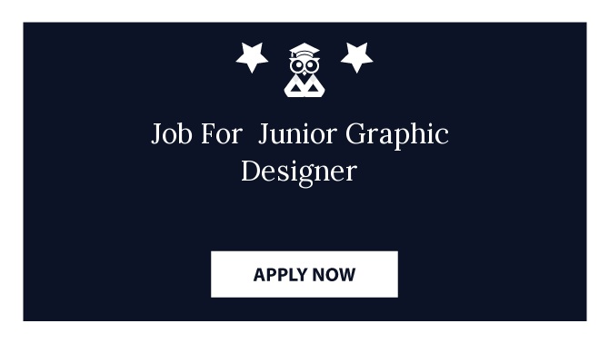 Job For  Junior Graphic Designer