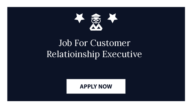 Job For Customer Relatioinship Executive