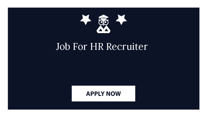 Job For HR Recruiter