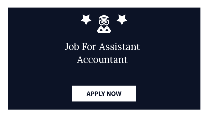 Job For Assistant Accountant
