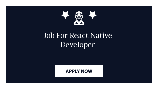 Job For React Native Developer
