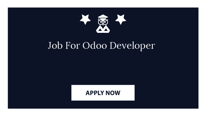 Job For Odoo Developer