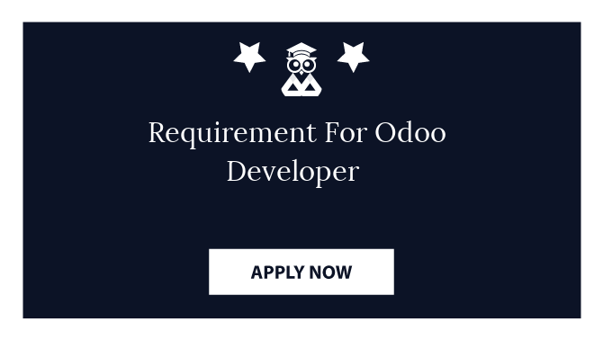 Requirement For Odoo Developer
