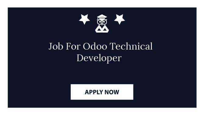 Job For Odoo Technical Developer