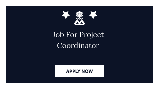 Job For Project Coordinator