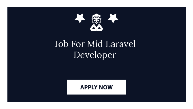 Job For Mid Laravel Developer