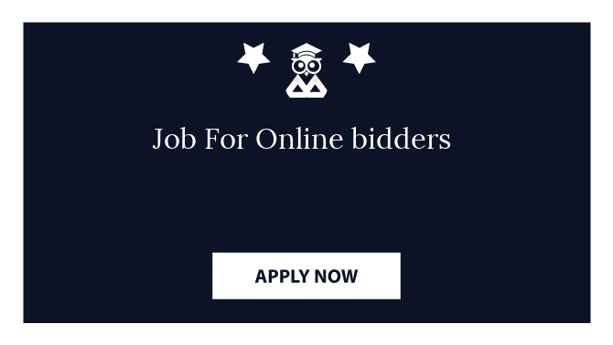 Job For Online bidders