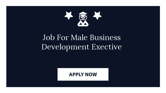 Job For Male Business Development Exective