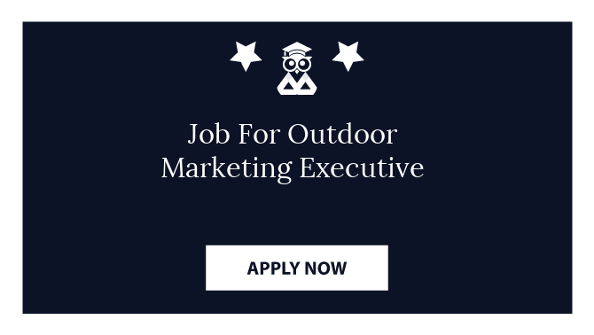 Job For Outdoor Marketing Executive