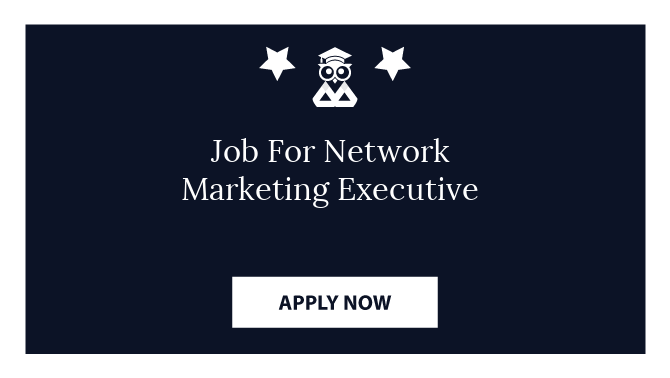 Job For Network Marketing Executive