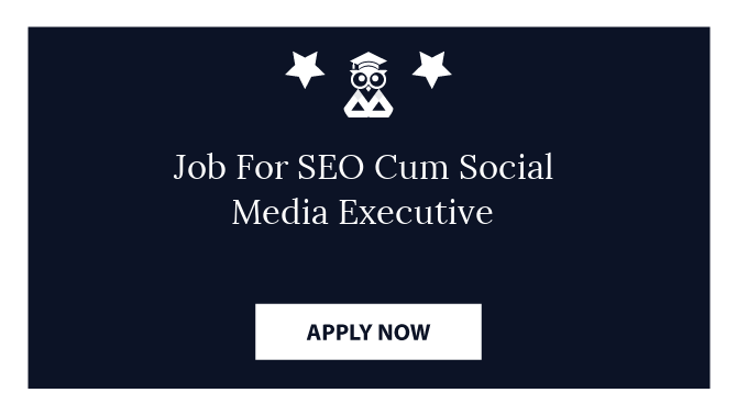 Job For SEO Cum Social Media Executive