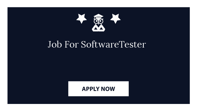 Job For SoftwareTester
