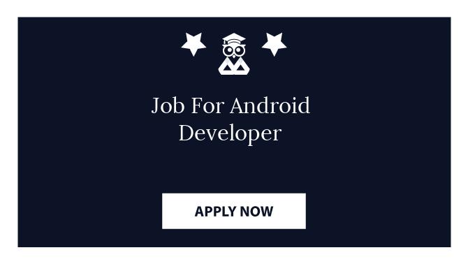 Job For Android Developer