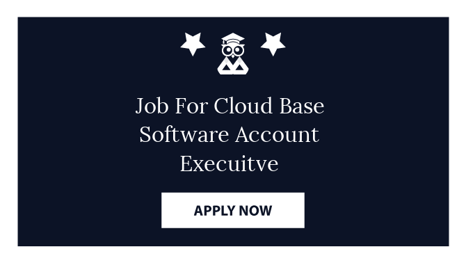 Job For Cloud Base Software Account Execuitve