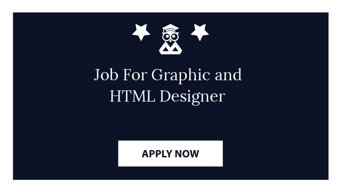 Job For Graphic and HTML Designer