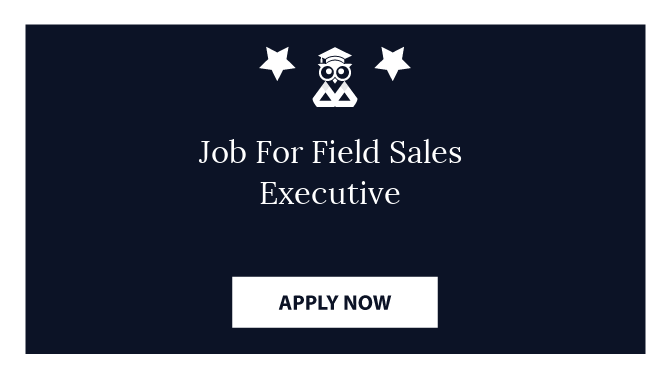 Job For Field Sales Executive