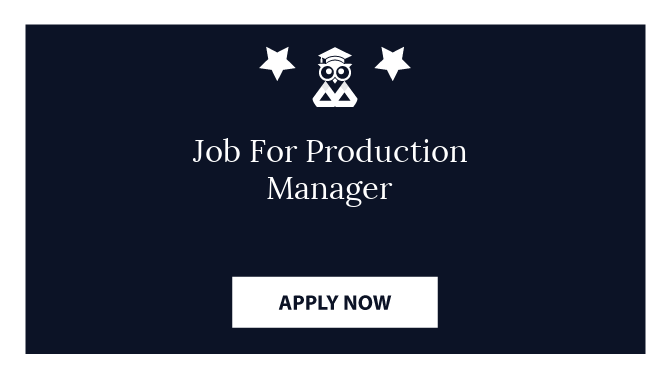 Job For Production Manager