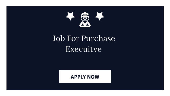Job For Purchase Execuitve