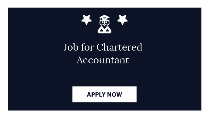 Job for Chartered Accountant