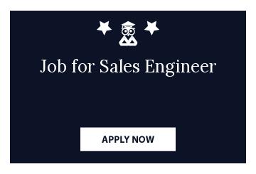Job for Sales Engineer