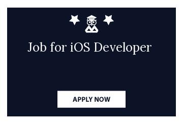 Job for iOS Developer