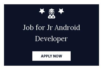Job for Jr Android Developer