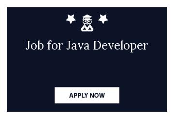 Job for Java Developer