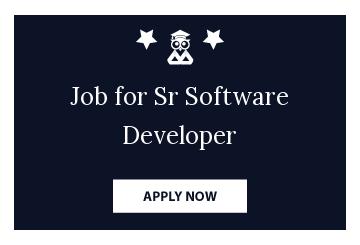 Job for Sr Software Developer