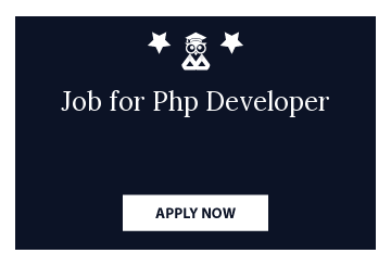 Job for Php Developer