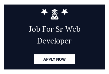 Job For Sr Web Developer
