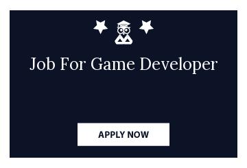 Job For Game Developer