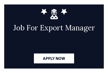 Job For Export Manager