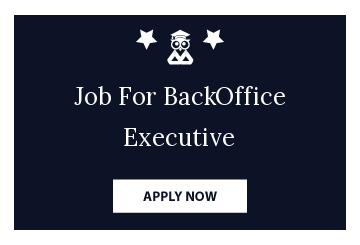 Job For BackOffice Executive