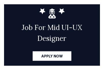 Job For Mid UI-UX Designer