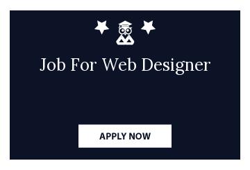 Job For Web Designer