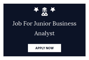 Job For Junior Business Analyst