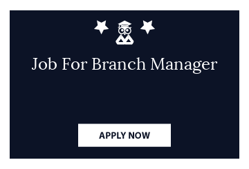 Job For Branch Manager