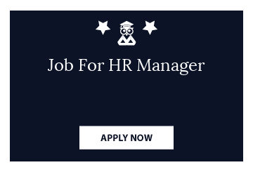 Job For HR Manager